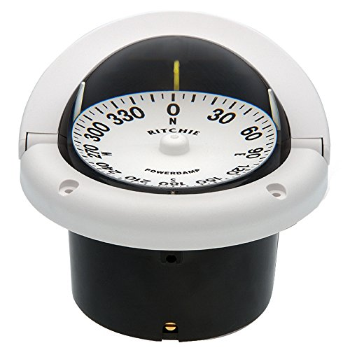 Ritchie HF-742W Helmsman Compass - Flush Mount - (Helmsman Flush)