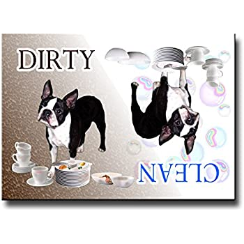 Amazon.com: Boston Terrier Licker License Fridge Magnet ...