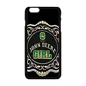 Happy John deere girl Case Cover For iPhone 6 Plus Case
