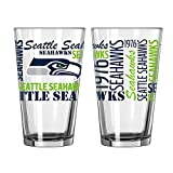 Seattle Seahawks Official NFL 16 fl. oz. Spirit Pint Glass