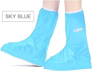 YOUNICER Haute PVC élastique Couvre la Couverture de Chaussures de Pluie de Manie la Couverture fadiche réutilisable de Fond de Semelle réutilisable