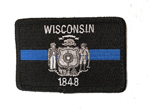 Best wisconsin flag velcro patch to buy in 2019
