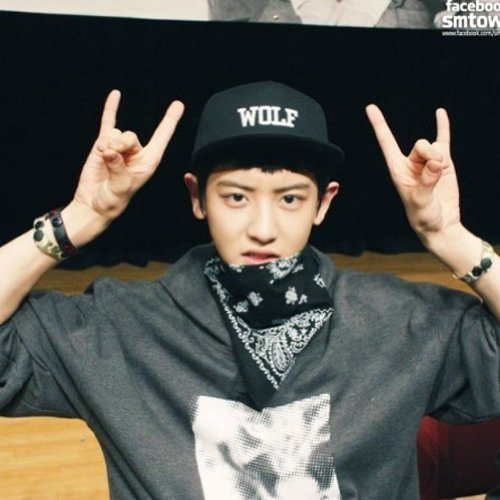 28329f84ade ... coupon code for okstar exo wolf chanyeol cap wolf snapback xoxo hat  wolf88 buy 8046a 2a642
