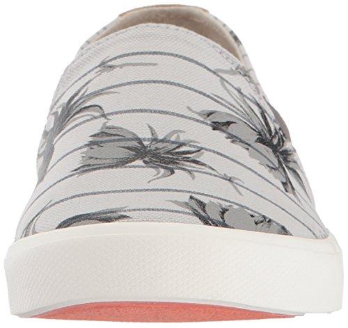 Light Atlanta Fashion Women's Slip on Shoes Roxy Sneaker Grey RxwOq
