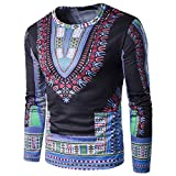 3D African O-Neck Dashiki T-Shirt