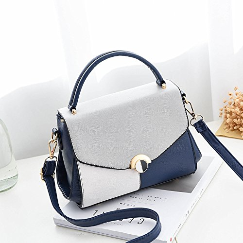 Cruz Bolsa Hou Beau Hombro De Bolso Bo Cruzando Messenger Bolso Hombro Hou La treasure Pequeña Plaza Vino single blue Bag Verano Solo GUANGMING77 Hombro shoulder Diagonal Rojo dqUdat