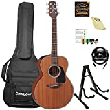 Takamine GX11ME-KIT-2 Mahogany 3/4 Size Taka-mini Acoustic-Electric Guitar