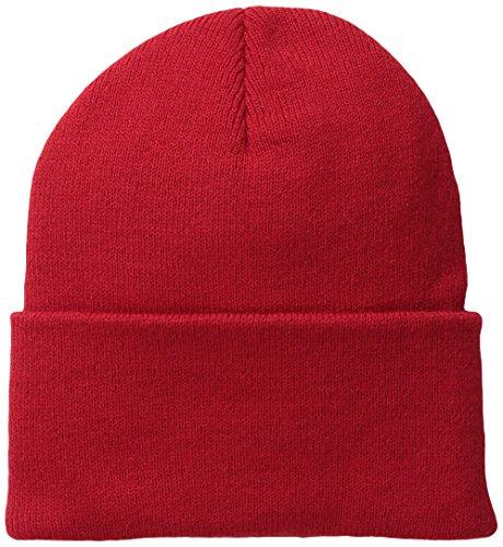 (Wigwam Men's 1017 Acrylic Watch Cap, Red, One)