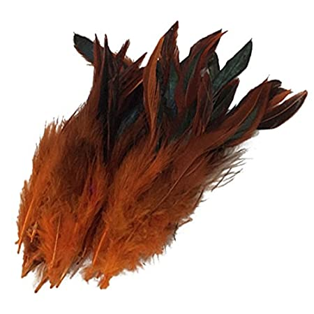 Feather played cock