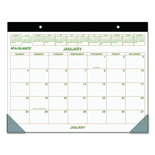 GLANCE Calendar Monthly Recycled GG2500 00