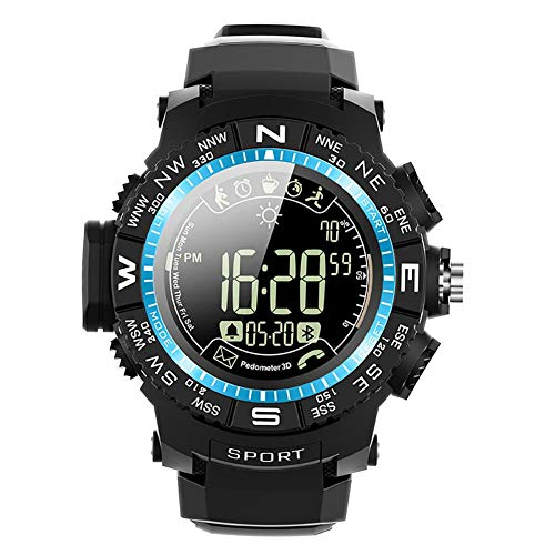 Stylishbuy Sports Smart Watch IP68 Waterproof Weather Drinking Water Sedentary Monitoring Reminder Remote Camera Information Health Management Pedometer Alarm Android iOS (Best Sports Management Games Ios)