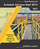 img - for Up and Running with Autodesk Advance Steel 2019: Volume 1 book / textbook / text book