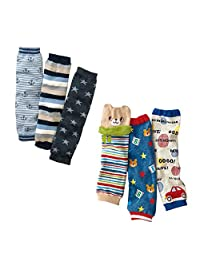 Lucky staryuan ® Set of 6 Baby Leg Warmer Toddler Kneepads
