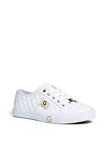 NEW IN BOX! G by GUESS Women's Otrend US 9 HIGH TOP Sneakers White & Black