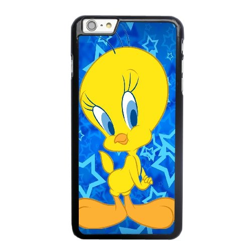Coque,Apple Coque iphone 6 6S plus (5.5 pouce) Case Coque, Generic Tweety Bird Cover Case Cover for Coque iphone 6 6S plus (5.5 pouce) Noir Hard Plastic Phone Case Cover