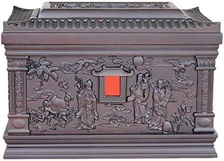 灰大人の骨壷 人間の灰のための壺 - 360ポンド(850 Cu.In)まで大人の火葬骨壷メモリーボックスサイズはめあいの名残り BUYT