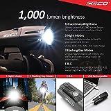 CECO-USA: 1,000 Lumen USB Rechargeable Bike Light