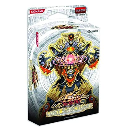 Yu-Gi-Oh Cards 5D's - Structure Deck - LOST SANCTUARY