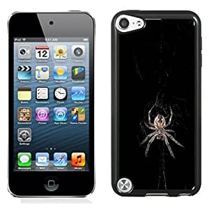 New Beautiful Custom Designed Cover Case For iPod 5 With Spider Phone Case