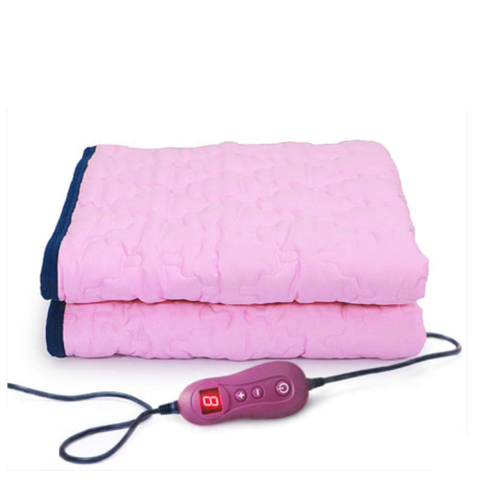 FUGUOGUO Electric Heated Warming Blanket, Washable Timed Automatic Power Off Foldable Cotton Extra Soft Heated Throw 11 Gear Adjustment Electric Blankets Single Bed,Blue liunana.com