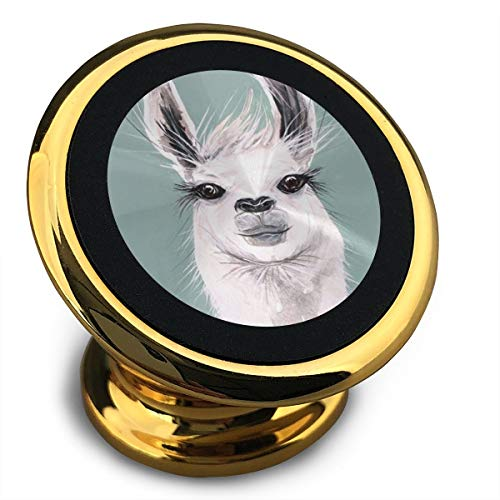 Baerg Universal Magnetic Phone Car Mounts Magnet Holder Cool Llama Magnetic Mount for Phone 360° Rotation