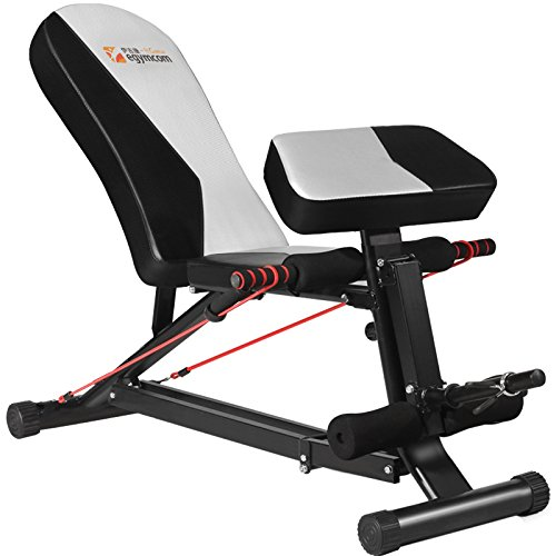 Egymcom Adjustable Weight Bench /Workout Weightlifting Bench by egymcom