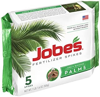 product image for Jobe's 01010 5 Pack, 10-5-10, Palm Tree Fertilizer Spikes - Quantity 24