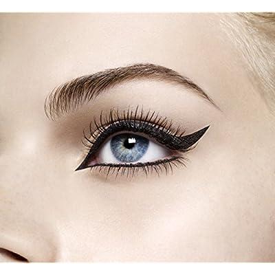 Max Factor Masterpiece High Precision Eyeliner líquido 01 de terciopelo negro, Paquete 1er (1 x 1 g)