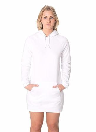 b883a7082a6 American Apparel California Fleece Pullover Raglan Hoodie Dress ...