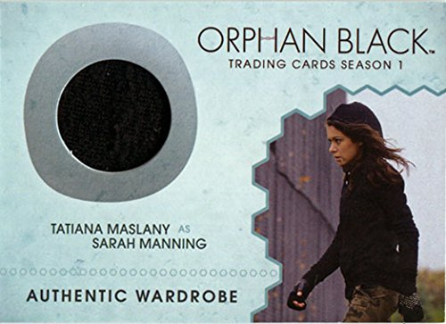 Orphan Black Season 1 M01 Costume Wardrobe Card Tatiana Maslany as Sarah
