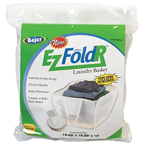 Bajer Design& Marketing 5234 Ez Fold'r Laun Basket [Misc.], 19-1/4