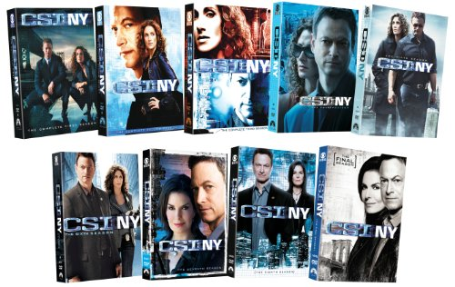 CSI: NY - Nine Season Pack by Paramount