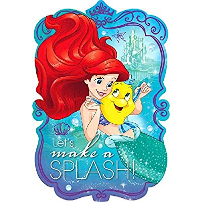 Postcard Invitations | Disney Ariel Dream Big Collection | Party Accessory: Toys & Games
