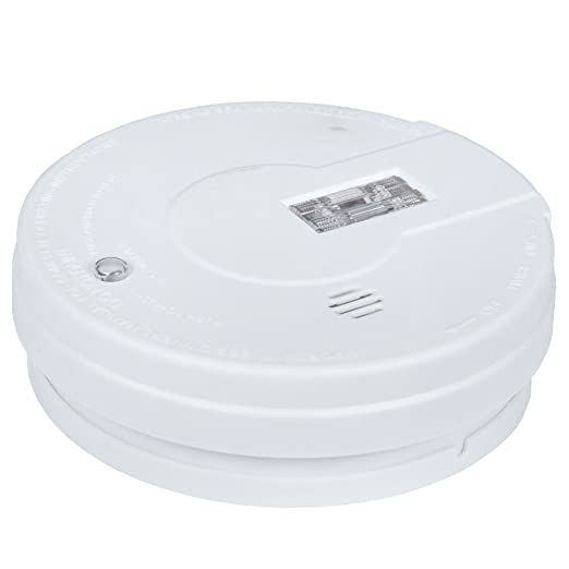 Batería Kidde de seguridad detector de humos con luz de alarma y HUSH-i9080EU