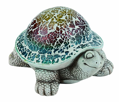 Transpac A1053 Sm Cement Mosaic Turtle -