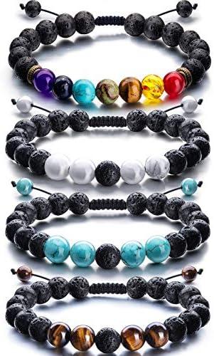 Adjustable Essential Diffuser Bracelet Bracelets