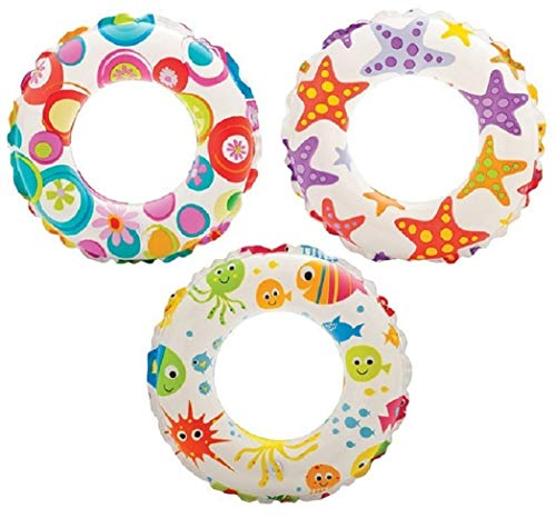 ively Print Swim Ring, Summer Fun (Pack of 2 Assorted) ()