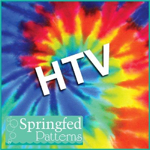 TIE DYE PATTERN #1 HTV Heat Transfer Vinyl 12