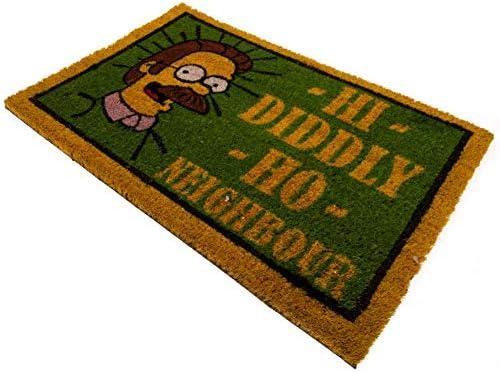 Felpudo coco Los Simpson Flanders solo 23,90€