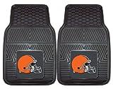 cleveland car floor mat - Cleveland Browns Heavy Duty Vinyl Car Mats