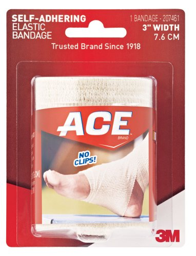 Ace Self-Adhering Elastic Bandage, 3 Inches (Pack of 2)