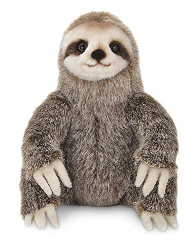 Bearington Simon Plush Three Toed Sloth Stuffed Animal, 10 inches ()