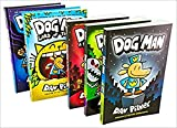 Dog Man Collection Set, 5 Books