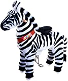 Vroom Rider X Ponycycle Ride-On Zebra for 3-5 Years Old - Small