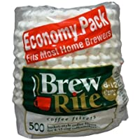 Brew Rite Coffee Filters 500 count