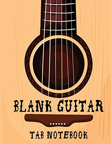 (Blank Guitar Tab Notebook: Blank Guitar Tab Notebook:Guitar Tab Notebook: Good Life Quotes, Music Composition Books, Music Manuscript Paper 100 Pages ... Bass Clef Play Rest Repeat ,Blank Sheet Music)