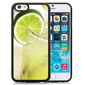 Beautiful Custom Designed Cover Case For iPhone 6 4.7 Inch TPU With Iced Green Tea Lemonade Phone Case