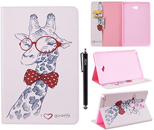 Galaxy Tab A 10.1 with S Pen Case, iYCK Premium PU Leathe...