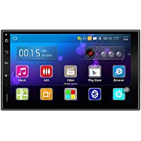 TOOGOO(R) 1 set Android 5.1 Car DVD Player 7 inch 2din DVD Capacitive Touch Screen High Definition 1024x600 GPS Navigation Bluetooth USB SD Player