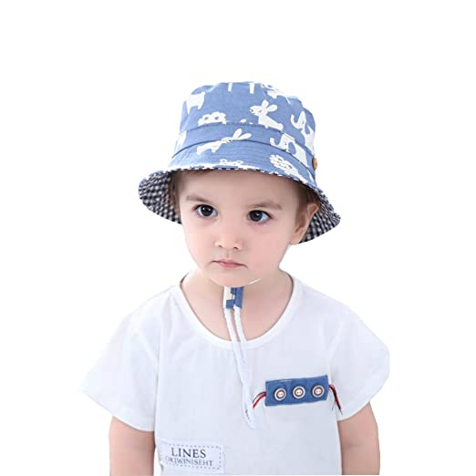 Amazon.com  Baby Floppy Sun Hat UPF 50+ Highest Certified UV Sun Protection  Summer Outdoor Hats  Clothing 95c9a685e54